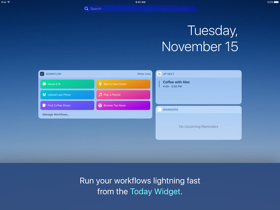 Workflow: Powerful Automation Made Simple Screenshot
