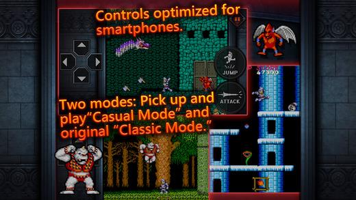 Ghosts'n Goblins MOBILE Screenshot
