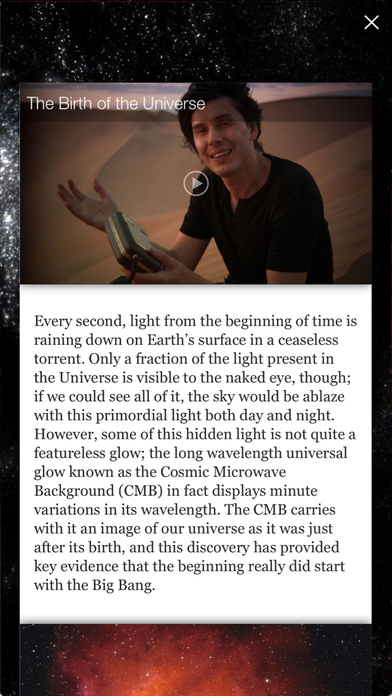 Brian Cox's Wonders of the Universe Screenshot