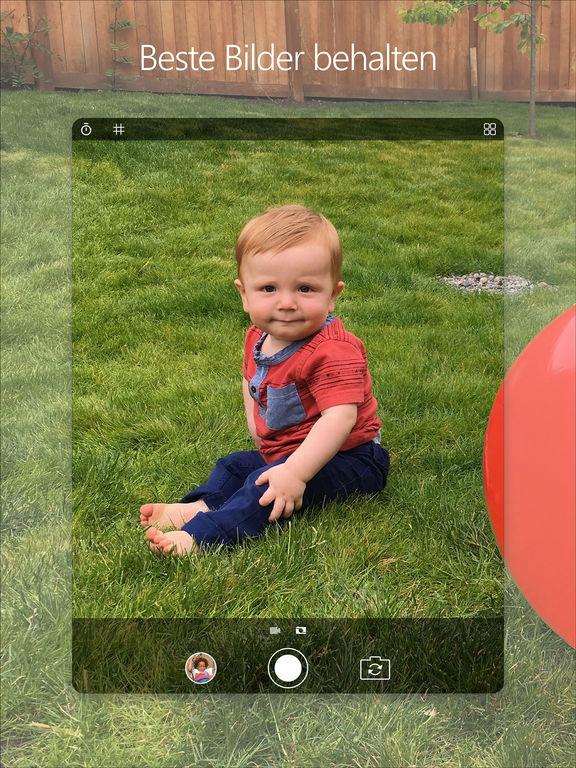 Microsoft Pix-Kamera Screenshot
