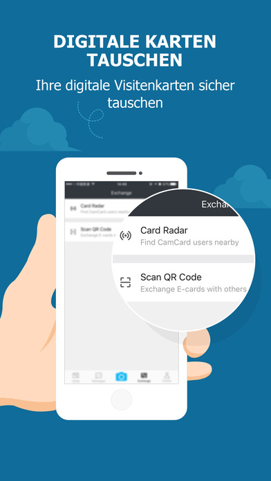 CamCard - Business card scanner reader Screenshot