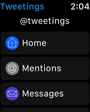 Tweetings for Twitter for iPhone Screenshot