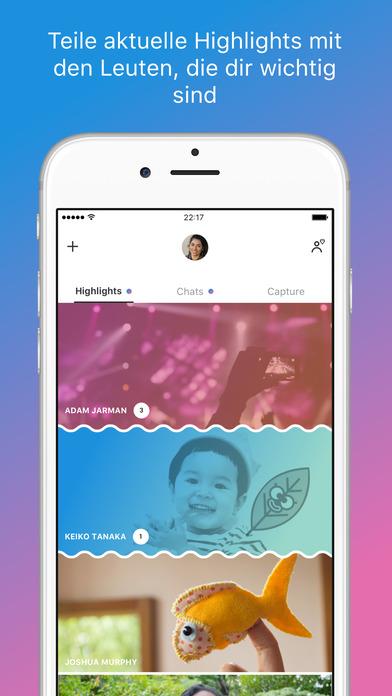 Skype für iPhone Screenshot
