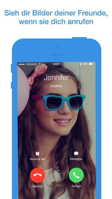 Sync.ME - Soziale Anrufer-ID & Spamerkennung Screenshot