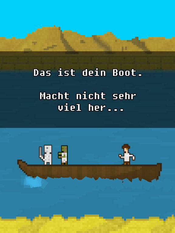 You Must Build A Boat Screenshot