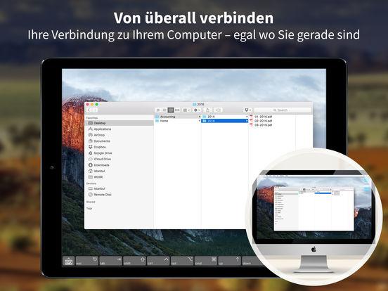 Screens VNC - Steuern Sie Ihren Computer fern Screenshot