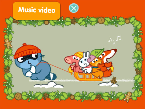 Christmas Jigsaw Puzzle Pango Screenshot
