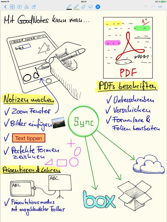 GoodNotes 4 - Notizen & PDF Screenshot