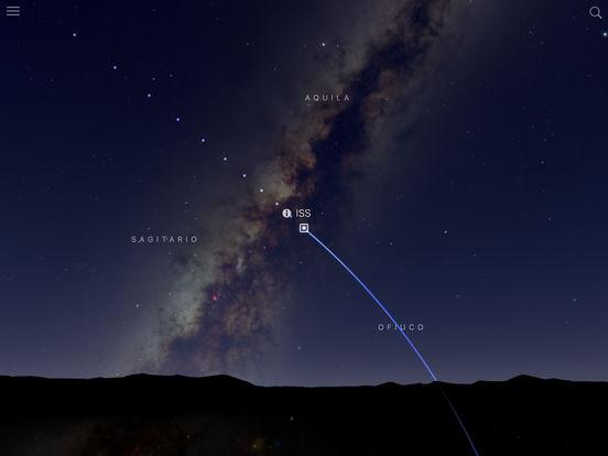 Sky Guide – Mapa estelar Screenshot
