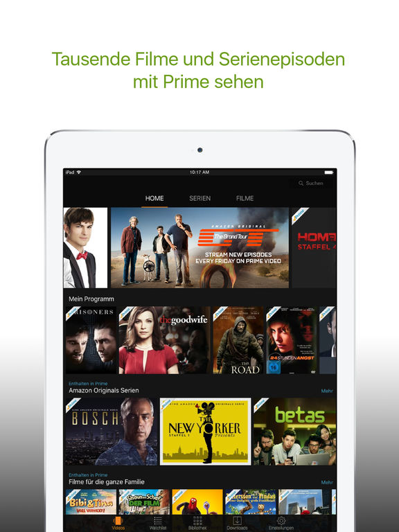 Amazon Prime Video / Deutschland Screenshot