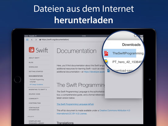 Documents 5 – PDF-Reader, Dateien & Medien, Cloud Screenshot