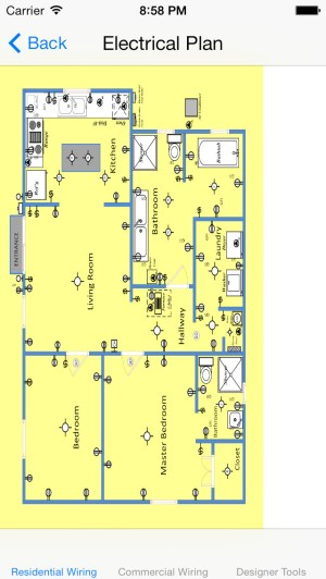 Electrical Wiring Diagrams  Residential and Commercial (ios)