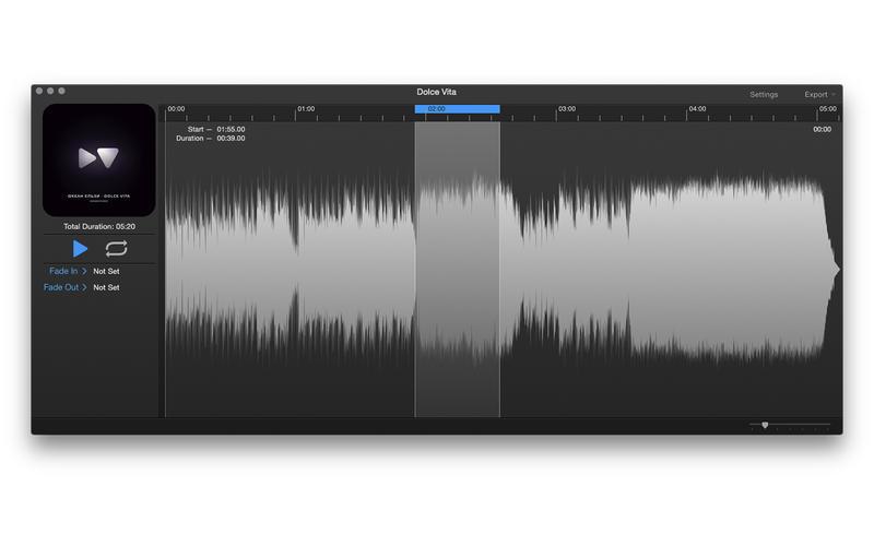 i39 1.6 Mac 破解版 – 简单、快捷铃声制作软件