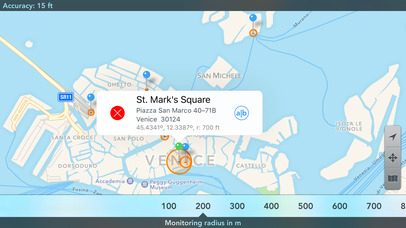 Screenshot do app Geofency: Time Tracking – Automatic Location-based