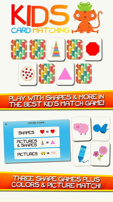 Shape Game & Colors App Preschool Games for Kids iPhone