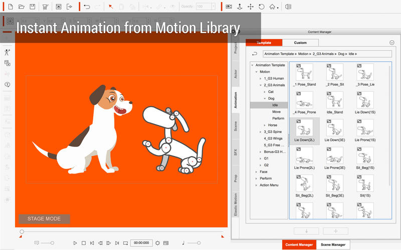 CrazyTalk Animator 3 for Mac 3.22.2426.1 破解版 - 二维动画软件