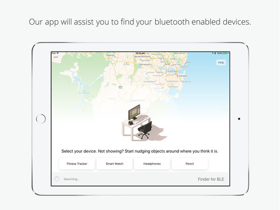 Screenshot do app Bluetooth Finder - find your lost BLE devices