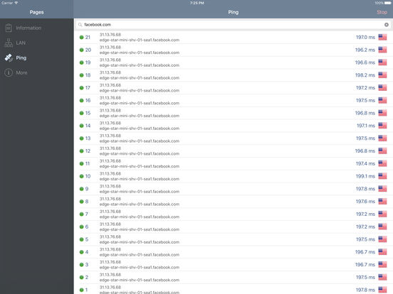 Network Analyzer Lite - wifi info, scanner & ping Screenshot