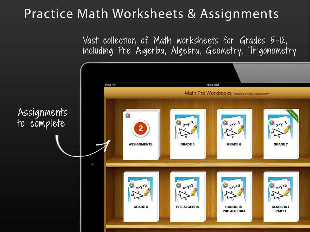 App Shopper Math Pro Education