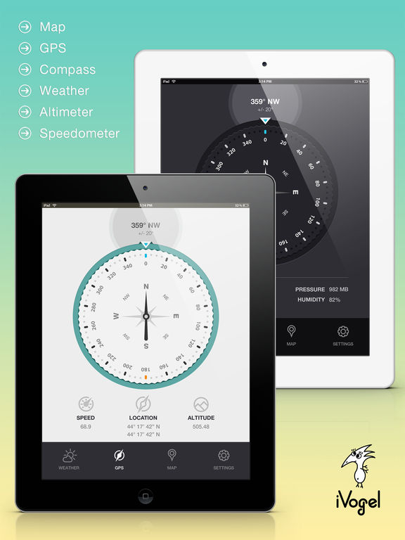 Compass by iVogel iPad