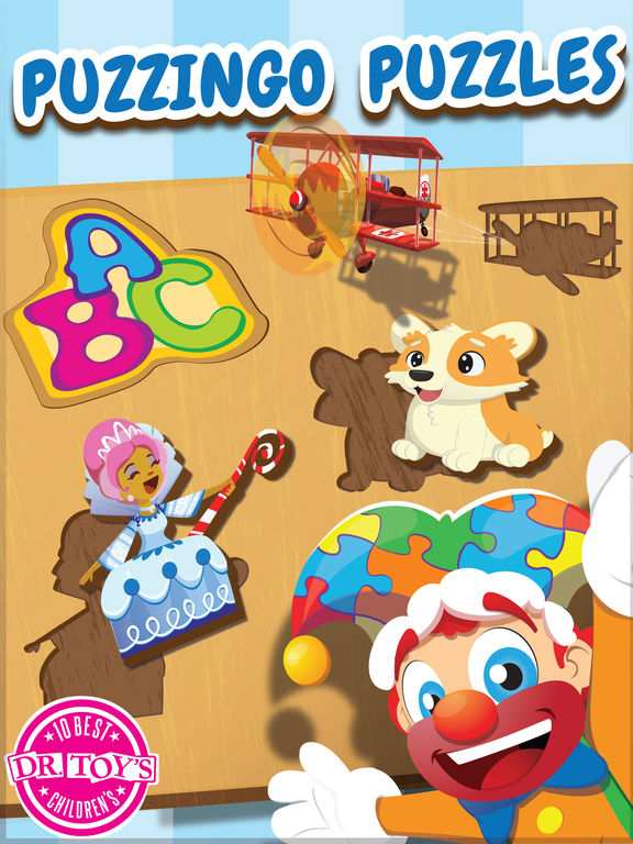 Toddler Kids Puzzles Puzzingo – Educational Games by 77Sparx Studio, Inc. – Review