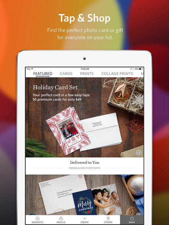 KODAK MOMENTS Holiday Cards Amp Photo Gifts On The App Store