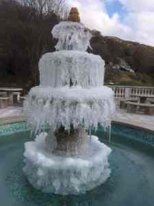 Ice Fountain