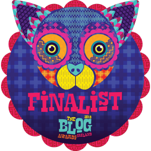 Finalist in the 2018 Blog Awards - Ireland
