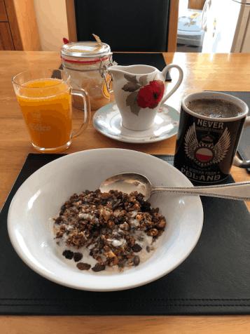 My new breakfast - so healthy