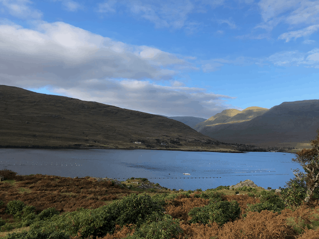 On my way home from work - Killary Harbour