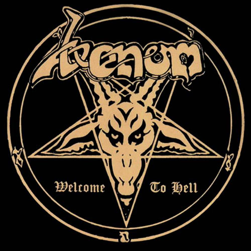 4 - Venom - Welcome to Hell.