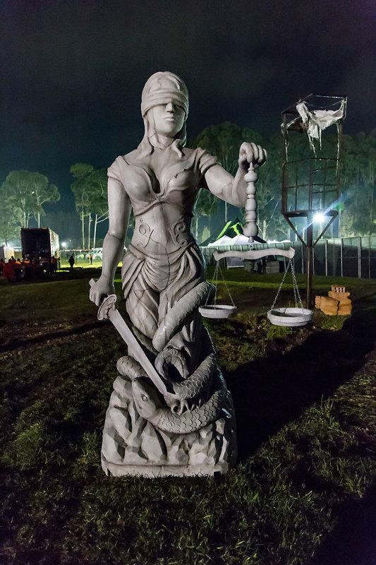 Doris Bogotá lady justice