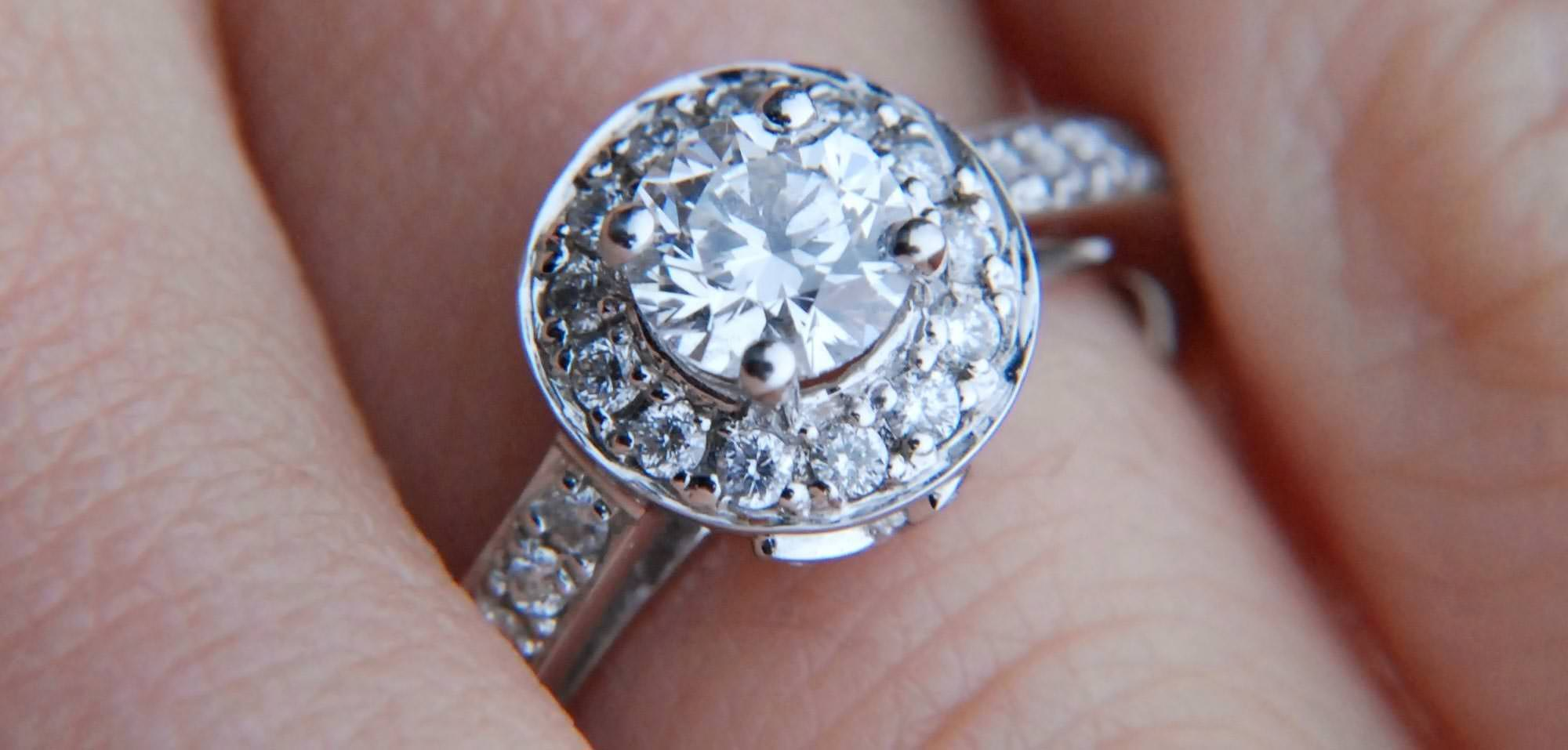 What Is A Halo Ring Jewelry Wise