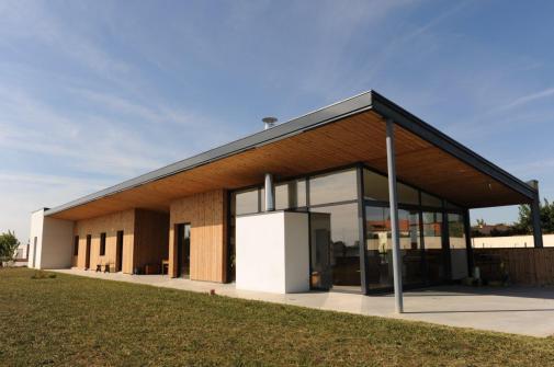 Maison B, Eric Labatut architecte, Cholet