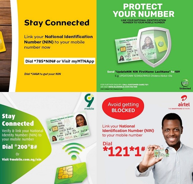 How to Check and Link Your NIN to MTN, Airtel, Glo, and 9mobile