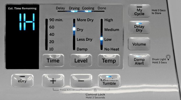 GE GTD65EBSJWS Controls