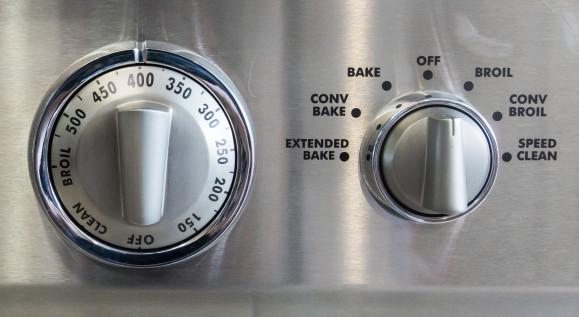 Oven temperature controls