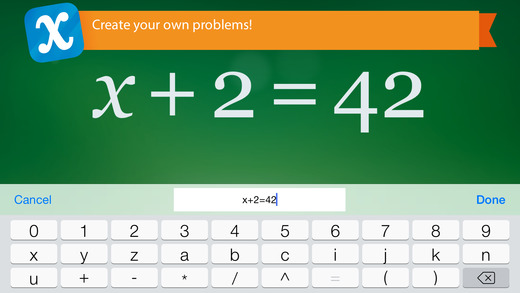 Algebra Touch Screenshot