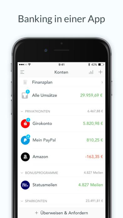 Outbank: Banking für alle Banken & Kreditkarten Screenshot