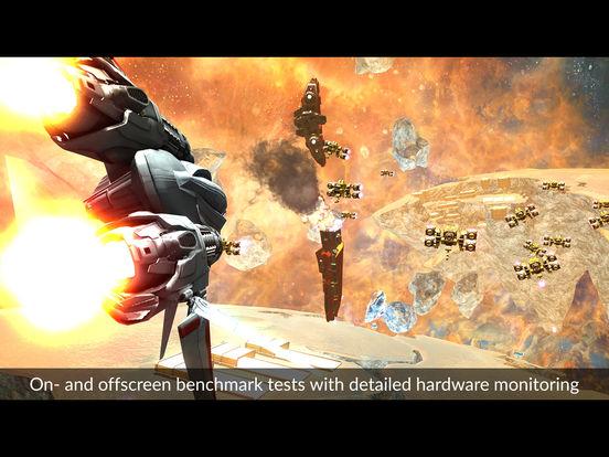 3DMark Ice Storm Benchmark Screenshot
