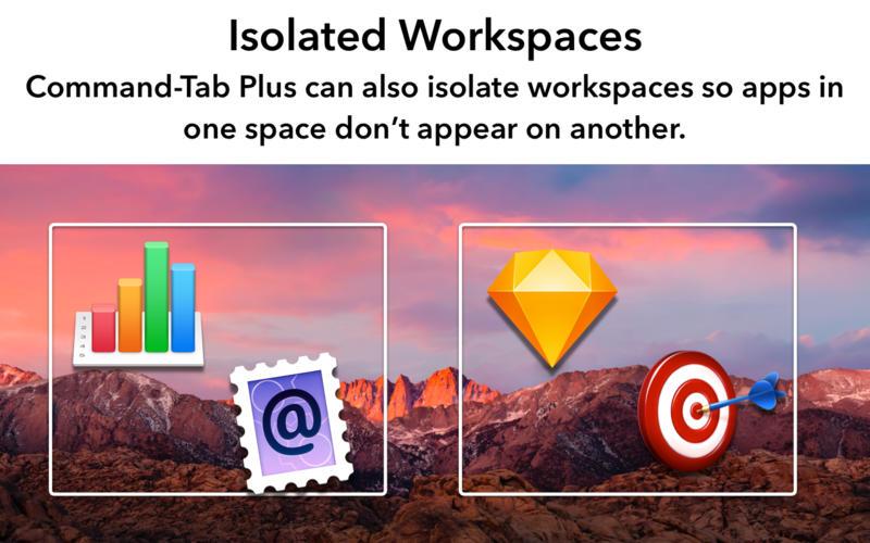 Command-Tab Plus for Mac 1.1 激活版 - 键盘快捷应用程序切换器
