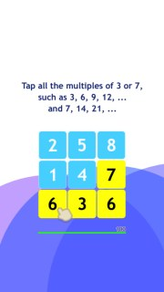 screen696x696 Faucet the 3s: Quantity Puzzle Recreation of Math by way of Hyemin Chung     FREE Apps Games