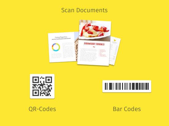 Scanbot 6 - PDF Document & QR-Code Scanner iPad