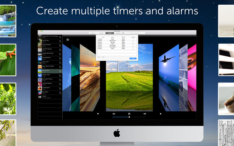 White Noise for Mac 7.3.1 破解版 - 优秀的白噪音睡眠休息辅助