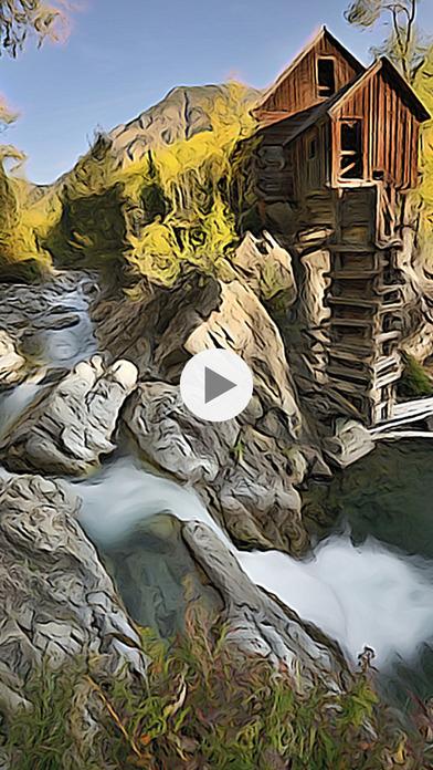 Screenshot do app ToonCamera