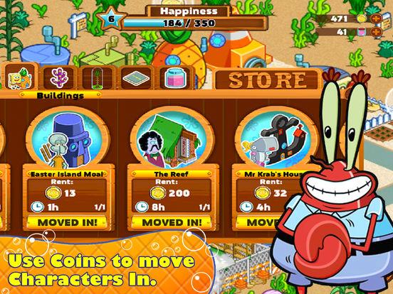 SpongeBob Moves In Screenshot