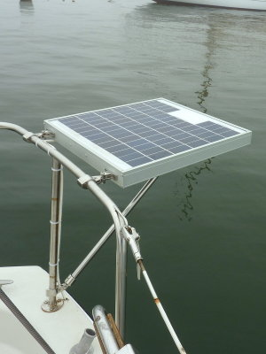 Installing A Small Marine Solar System Photo Gallery by Compass Marine How To at pbase