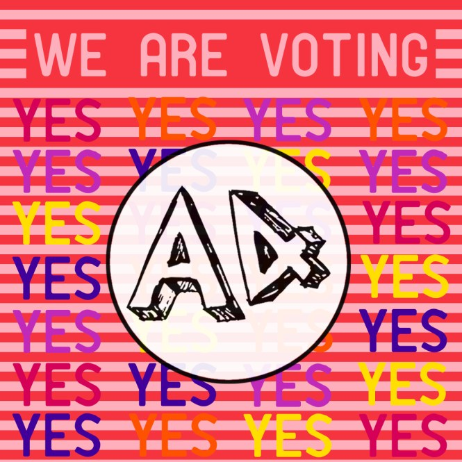 a4 yes vote