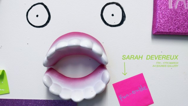 SARAH EXHIBITION IMAGE New Dates
