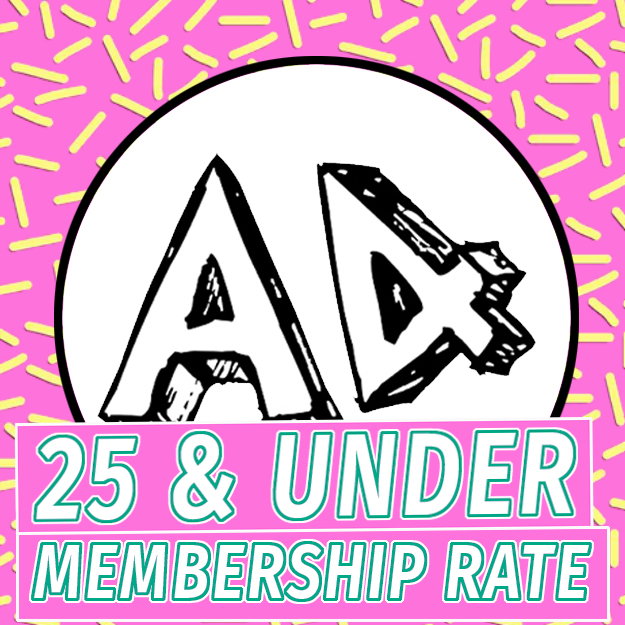 25 and under membership rate
